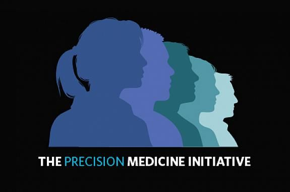 White House image for the Precision Medicine Initiative