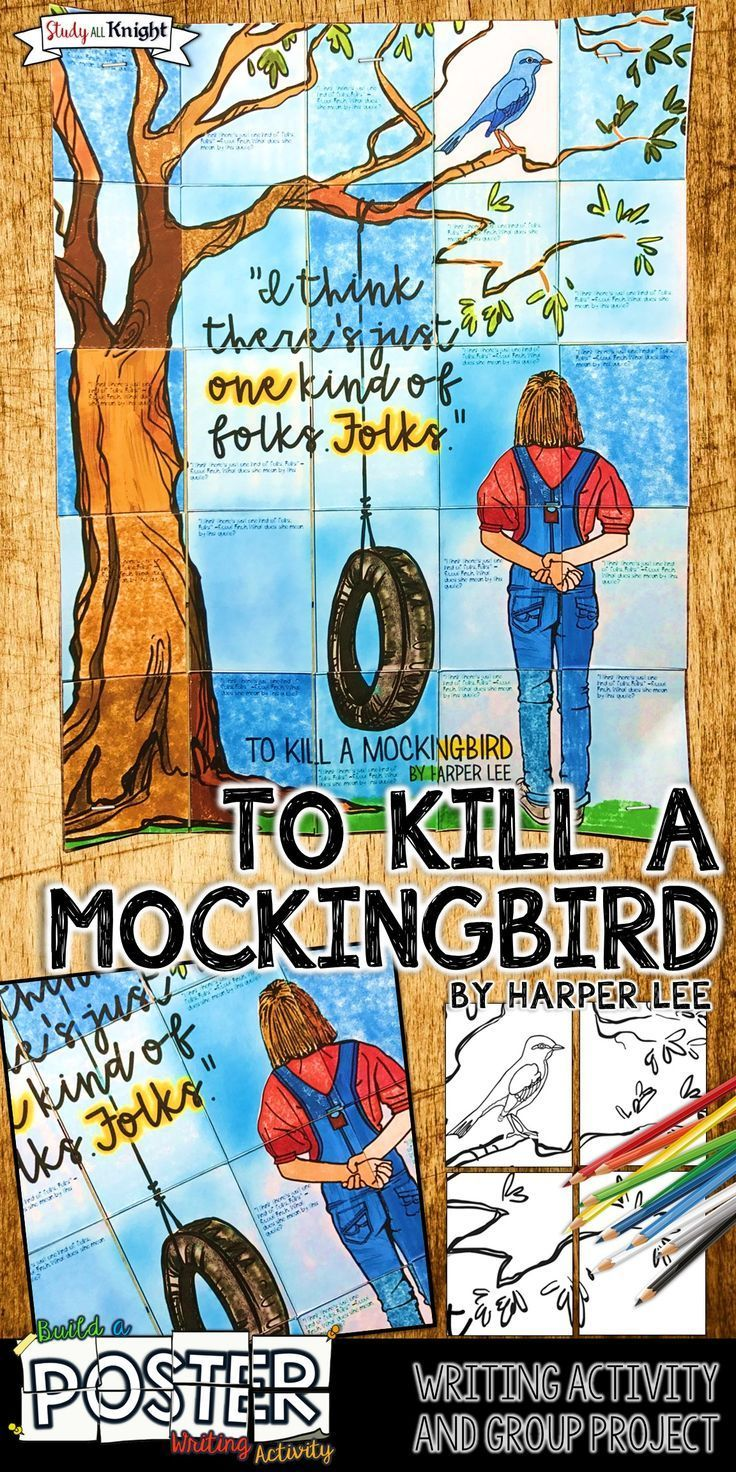 Middle School ELA | Middle School English Language Arts | English Teacher | To Kill a Mockingbird, our beloved timeless classic by Harper Lee is now a collaborative poster. This creative and beautiful resource contains a student writing prompt, opportunities for collaboration, a bulletin board for American literature novel study, and a meaningful quote that is very relevant and worthy of personal reflection and discussion.