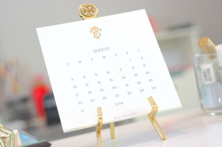 ***MUST have this calendar from Tory Burch
