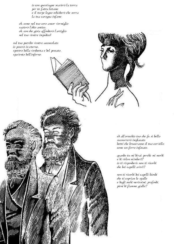 """tavola da """"Il canto dell'odio"""" di L. Stecchetti - Edizioni Hypnos"""