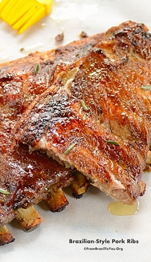Fall-off the bones, caramelized pork ribs prepared in the oven to be enjoyed all year round... #ribs #pork #oven