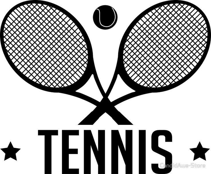 Tennis Racquet and Tennis Ball -  WTA Grand Slam Wimbledon Australian Open - Tennis Player Gift by CandidAwe-Store