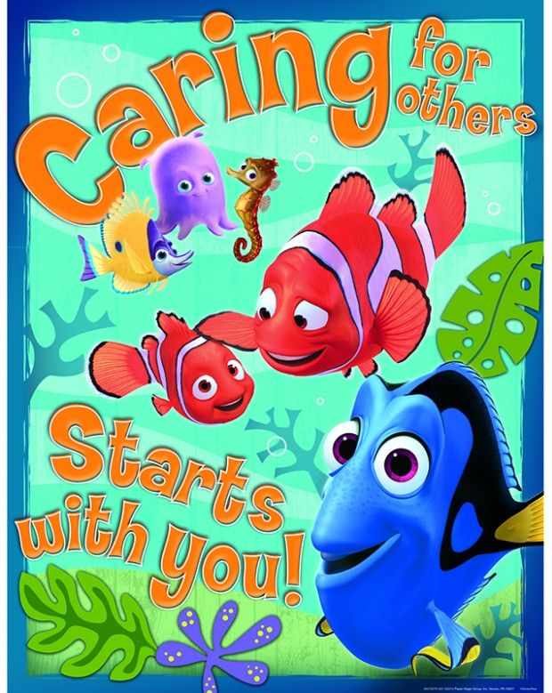 Eureka Finding Nemo Caring For Others Poster 17 22 Inches