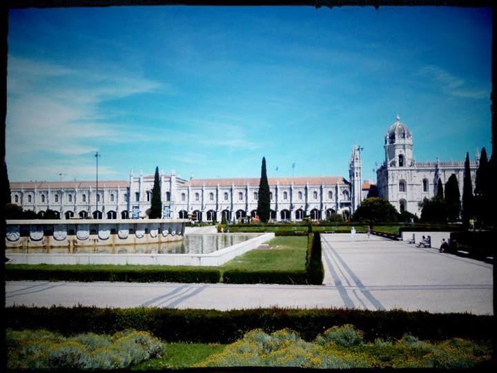 Náš první den začínal v Lisabonu. Portugalsko nás přivítalo obzvláště krásným počasím. #Portugal