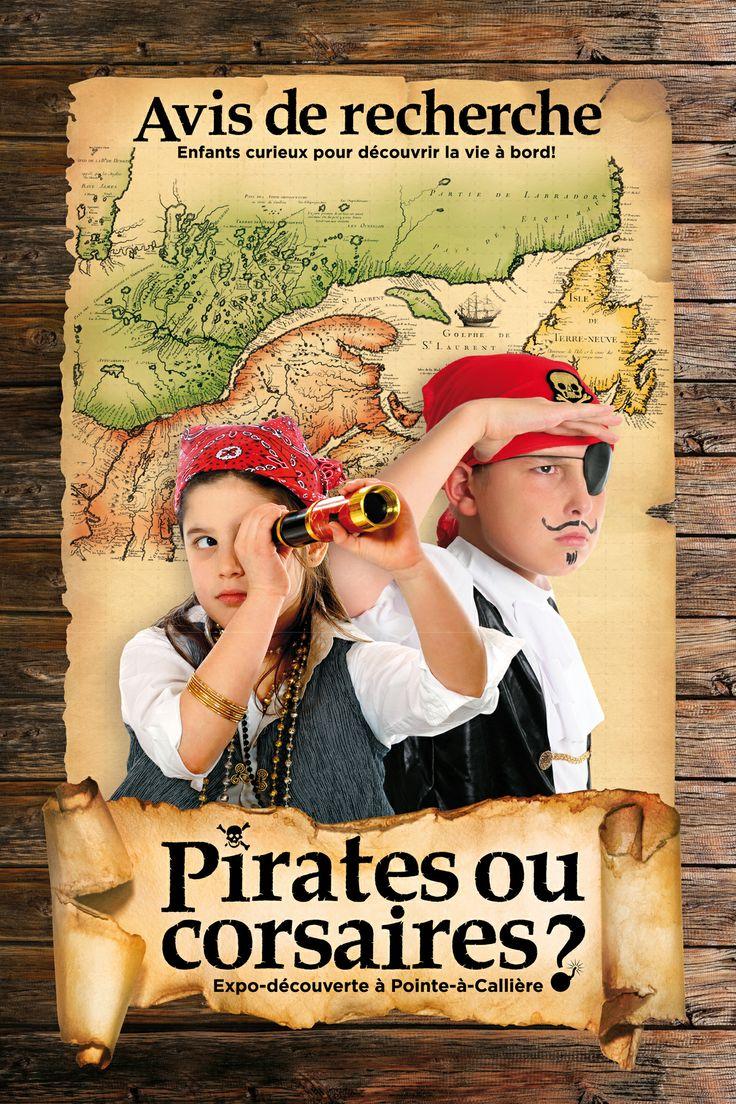Pirates ou corsaires? | Pirates ou Corsaires? Design graphique Dominique Boudrias