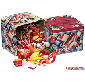 Old Time Christmas Mix Candy: 20-Ounce Tin
