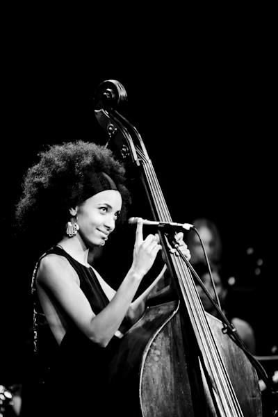 Esperanza Spalding (b. Oct 18, 1984) American Jazz Bassist, Cellist & Singer, draws upon many genres in her own compositions. Won three Grammy Awards, including for Best New Artist at 53rd Grammy Awards, making her the 1st & only jazz artist to win the award. Performed at the Nobel Peace Prize ceremony at Obama's request.