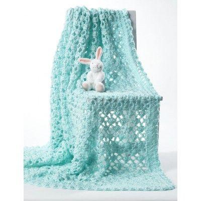 Crochet Baby Blanket Free Crochet Pattern from Yarnspirations