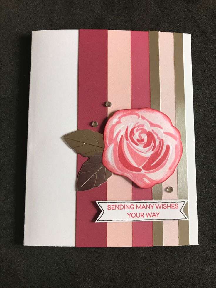 Our new double sided cardstock in Pomegranate & Bashful along with the new Silver foil paper made this card a no brainer. Paired with Beautiful You stamp set, clear sparkles & shimmer pen along with a sketch from Papertrey Ink & another card ready to make someone's day.