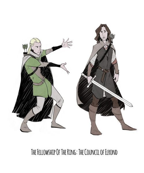 """""""This is no mere ranger. He is Aragorn, son of Arathorn. You owe him your allegiance."""""""