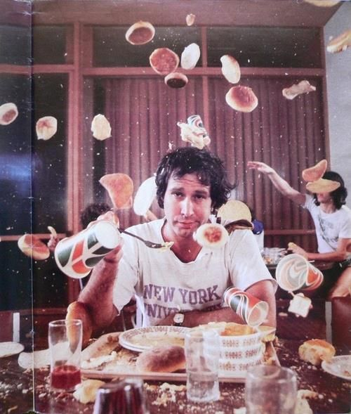 chevy chase food fight