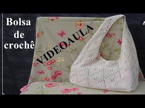 Bolsa de crochê #LuizadeLugh - YouTube
