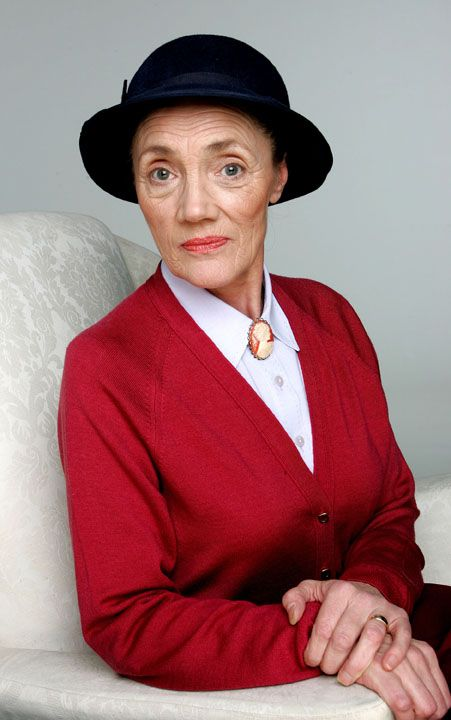 Shirley Stelfox (11 April 1941 – 7 December 2015) was an English actress, best known for her portrayal of the character Edna Birch on the British soap opera Emmerdale. She died from cancer on 7 December 2015, aged 74.