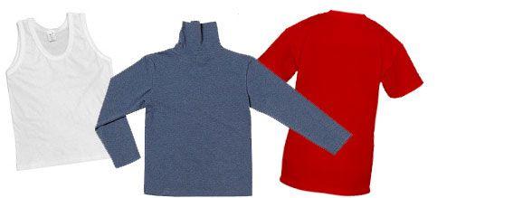 Выкройка детской водолазки (майки, футболки)