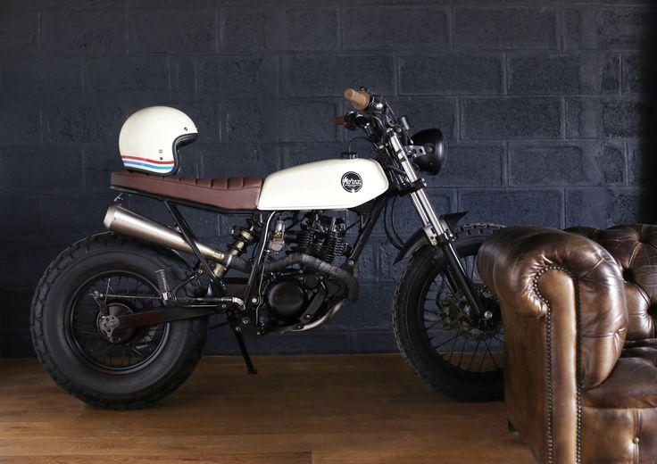 "Yamaha TW 125 ""light shade"" by morex custom"
