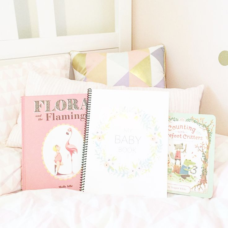 Baby Girl, Pink Baby Room, Baby Nursery, Baby Book, Floral Vintage Modern Simple Baby Album, Scrapbook, Baby Keepsake Book, Baby Memory Book, Journal, First Year, First Birthday, Etsy Baby Shop, Cute Baby Stuff, Cute Baby Girl