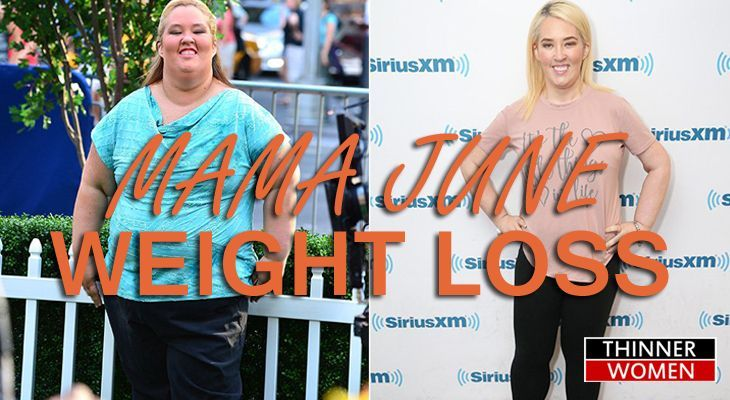 Mama June Weight Loss before and after Results