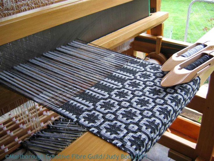 lovely bit of weaving