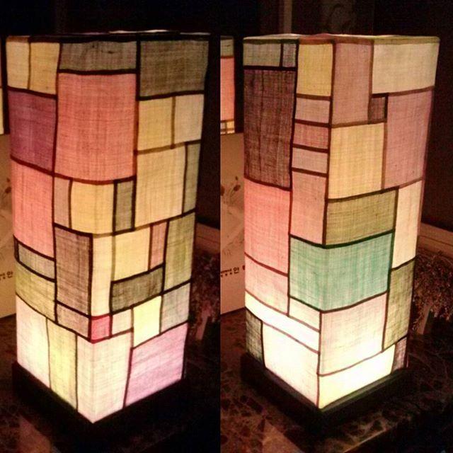 Lanterns. 모시조각등 #한울규방 #조각보 #규방공예 #생활자수 #전통공예