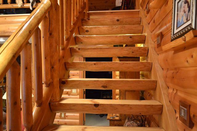 Best Log Steps Log Railings Log Stairs Enterprise Wood 640 x 480