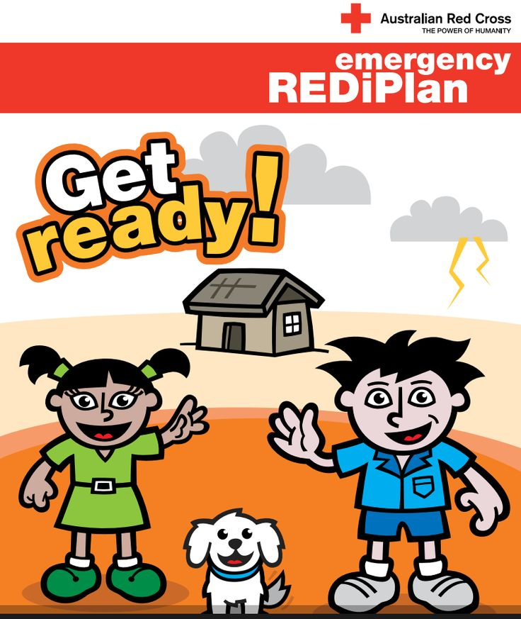 Children's Activity Book: a community information program to help people prepare for, respond to and recover from emergencies | Australian Red Cross