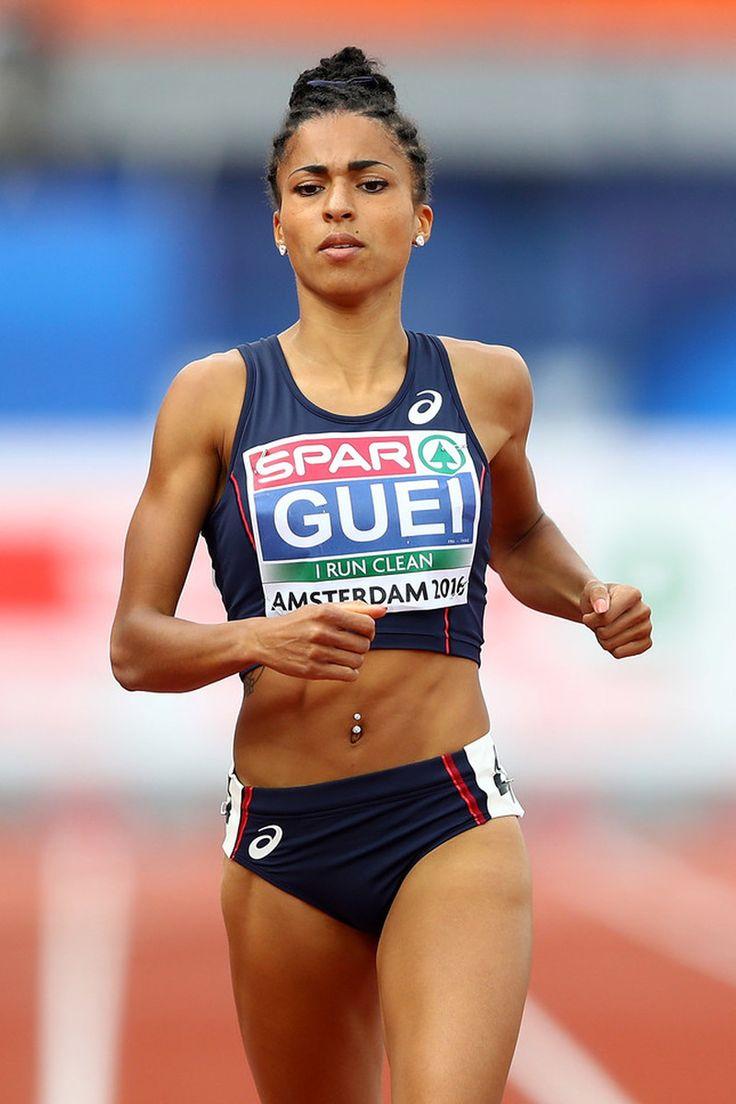 Floria Gueï (France) 2016 European Championships                                                                                                                                                                                 Mais