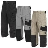 Snickers 3/4 Length Pirate Work Trousers. Kneepad Pockets. Rip-Stop - 3913