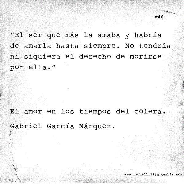 El amor en los tiempos del Colera - Garcia Marquez