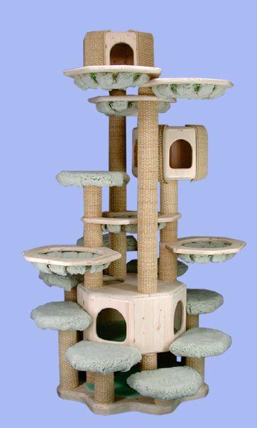 Bürgmann Katzen Kratzbäume Kletterbäume Katzenkratzbaum