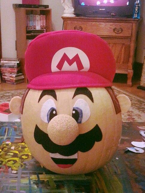 Mario pumpkin contest!