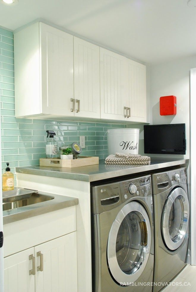 90 best home: laundry rooms images on pinterest