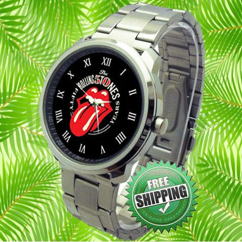 Rolling Stones 50th Anniversary Sport  Watch by lakonmenang, $15.00