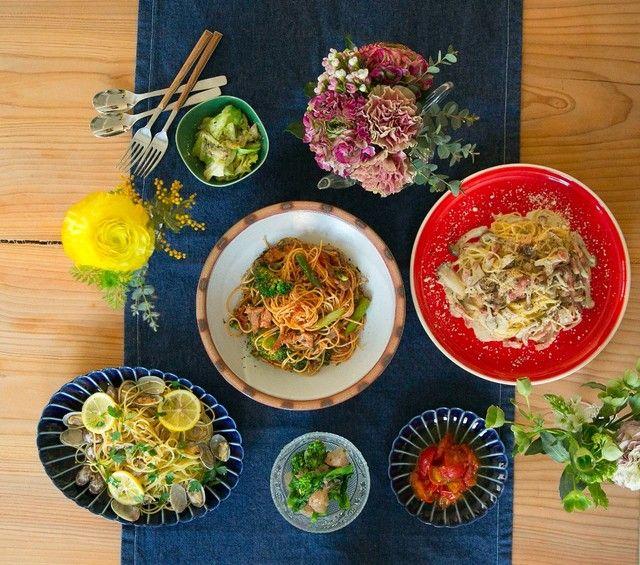 10分で完成♡ささっと作れて食卓華やぐ#幸也飯「春パスタと副菜」6選  -  LOCARI(ロカリ)