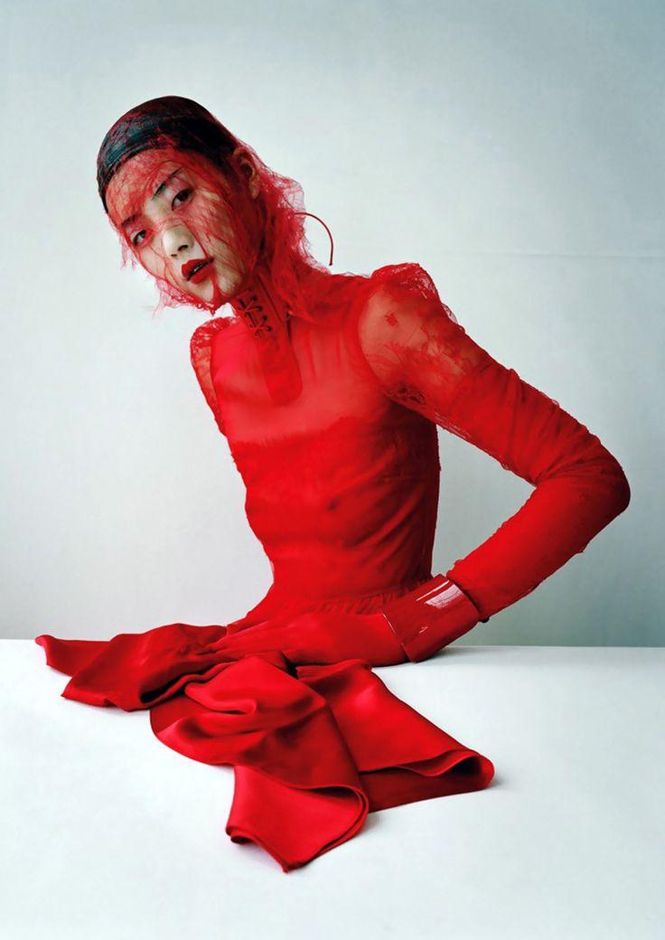 Xiao Wen Ju by Tim Walker, W March 2012, Magical Thinking