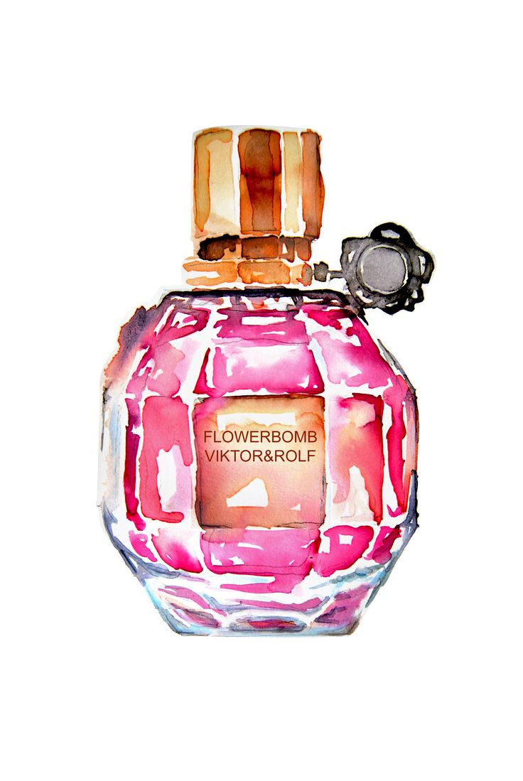 art watercolor fashion illustration perfume viktorrolf by liz meester…