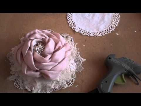Large Flower Tutorial Part 2 - YouTube