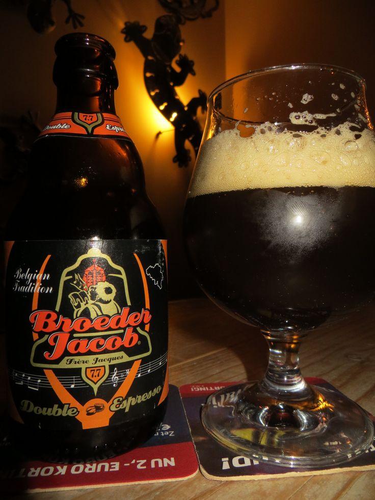 Broeder Jacob Double Espresso 7,7%  ,Dark stout with a slight Coffee taste
