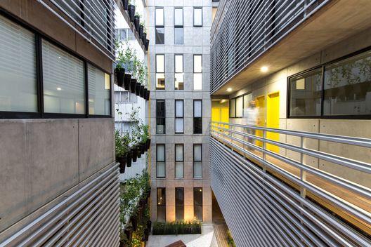 Vertiz 950 / HGR Arquitectos (Cidade do México, Distrito Federal, México) #architecture