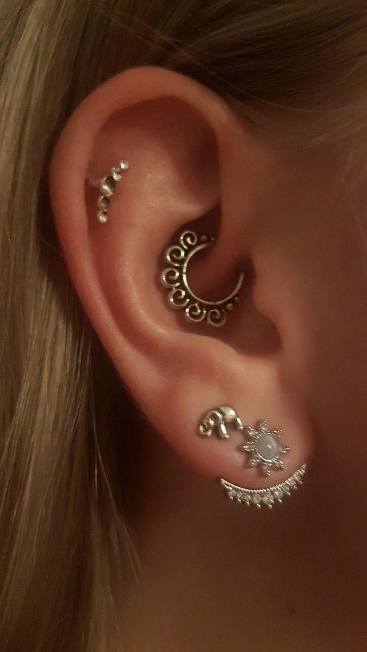Daith piercing #piercings