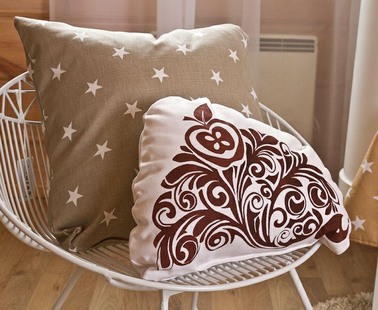 Hedgehog cushion * Ruskea siili-koristetyyny