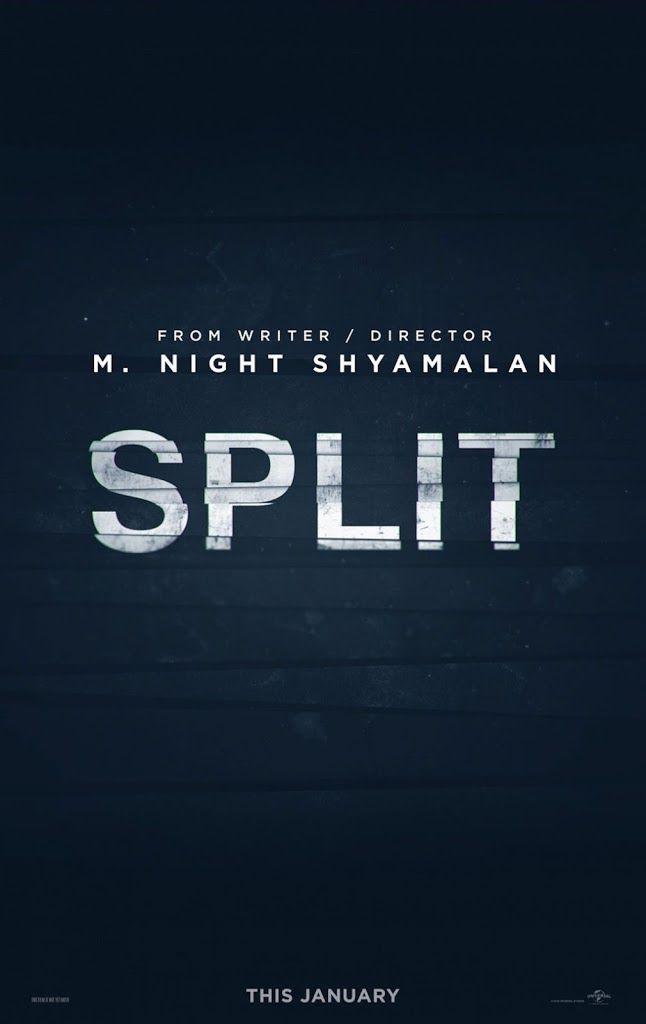 SPLIT movie poster No.1