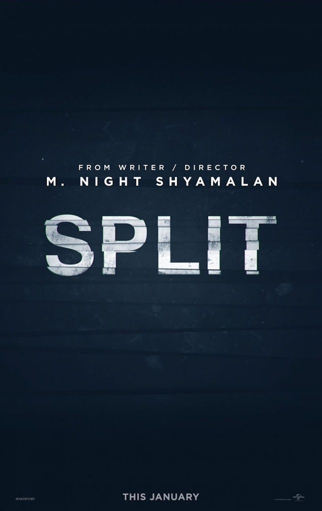 SPLIT movie poster No.1