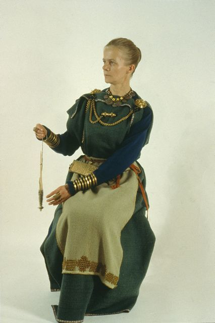 Viking age / Finnish /Eura dress: