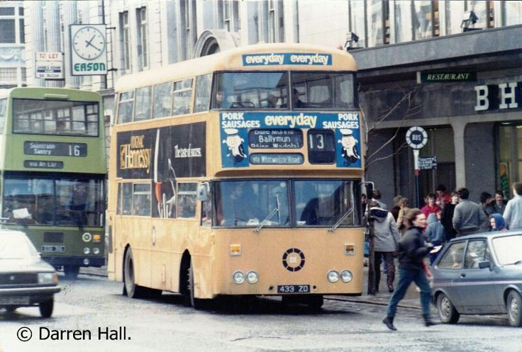 CIE in the early 80s. ..the No.13 to Poppintree