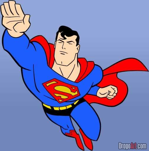 Baby Superman Drawing | Clipart Panda - Free Clipart Images