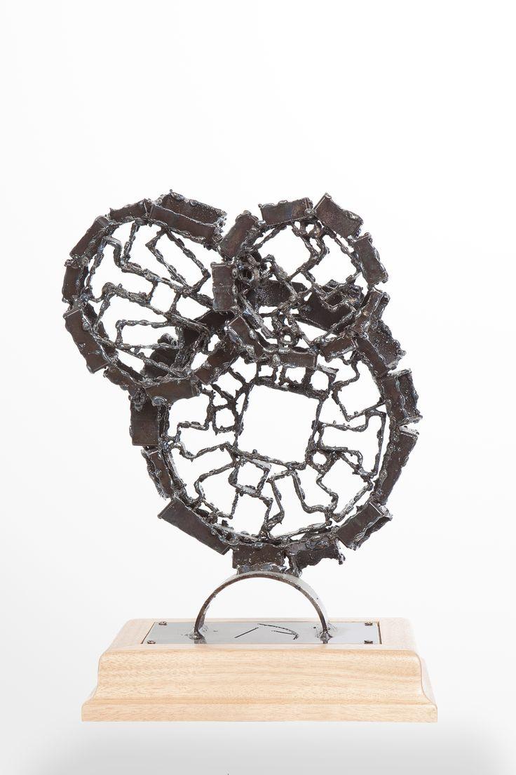STRANGE MECHANISM #2 - Akelo Andrea Cagnetti - Sculpture Metal