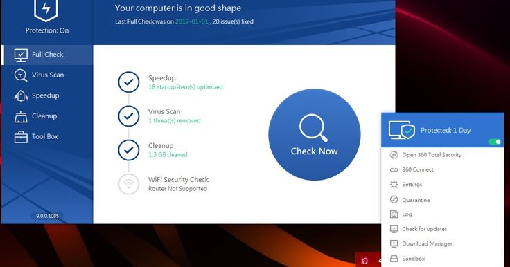Tο 360 Total Security αποτελεί ένα από τα καλύτερα δωρεάν προγράμματα για τον έλεγχο του υπολογιστή σας και όχι μόνο. Περιλαμβάνει πέντε από τις καλύτερες μηχανές antivirus συμπεριλαμβανομένων των Avira και Bitdefender προστατεύοντας σας από κακόβουλο λογισμικό phishing δούρειους ίππους αλλά και άγνωστες απειλές μέσω της τεχνολογίας cloud παρέχοντας πλήρη προστασία.  Πέραν της κλασικής λειτουργίας του προγράμματος ως antivirus προσφέρει και πολύ καλές υπηρεσίες βελτιστοποίησης και…