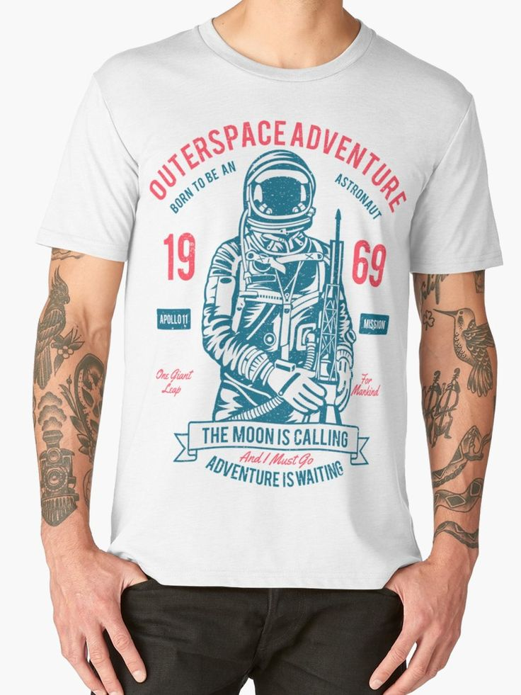 Outer space Adventure - Born to be an astronaut by augustinet