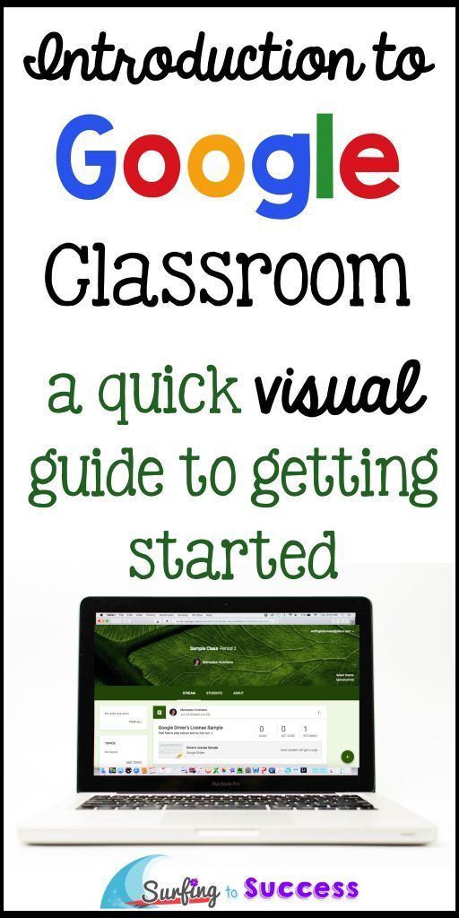 Wondering what Google Classroom is like? Just getting started? This visual tour will walk you through setting up your first class.