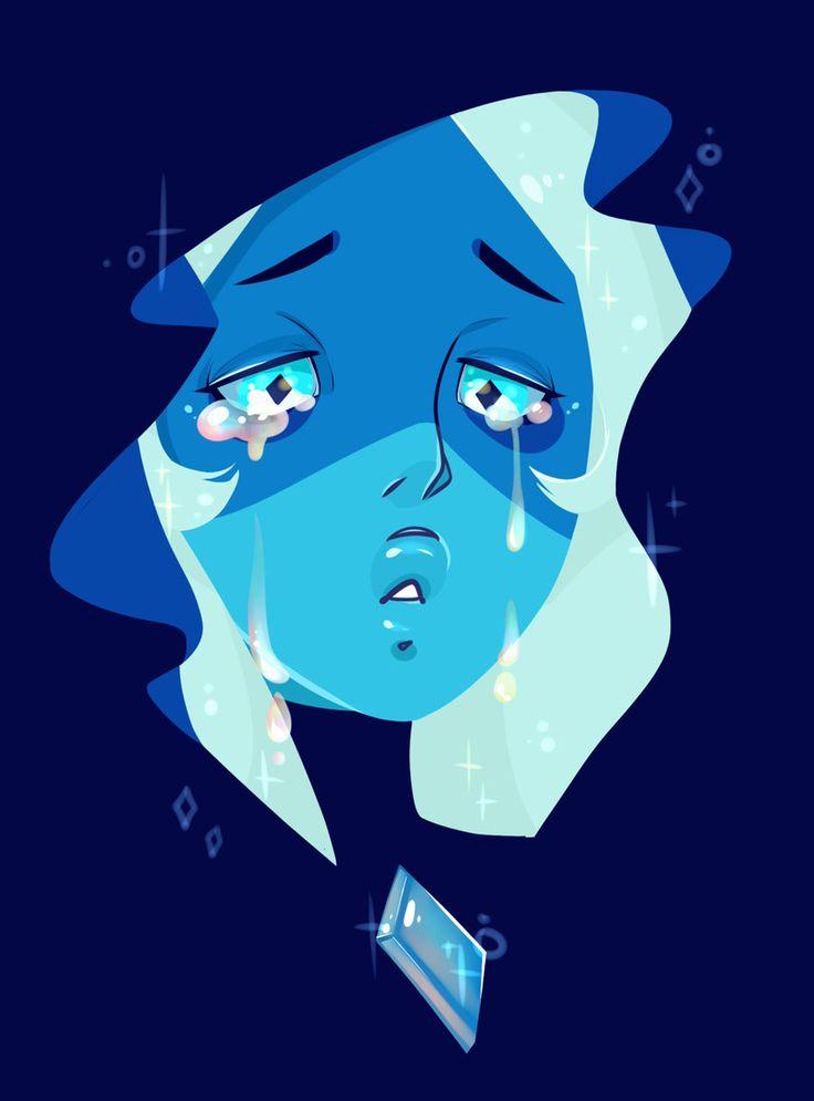 SU art,Steven universe,фэндомы,Blue Diamond,SU Персонажи,niucniuc,SU спойлер
